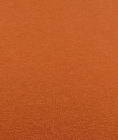 Jersey de bambou fluide brique (1.2€/10cm)