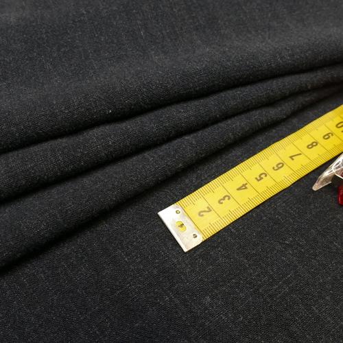 Tissu viscose lin souple couleur marine (1.2€/10cm)