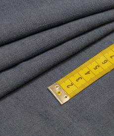 Tissu viscose lin souple couleur indigo (1.2€/10cm)