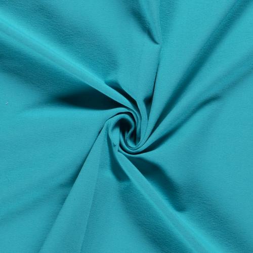 Jersey de coton uni turquoise (0.99€/10cm)