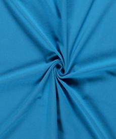 Jersey de coton uni aqua (0.99€/10cm)