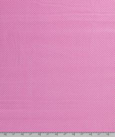 Coton popeline à pois rose clair (0.75€/10cm)