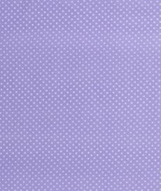 Coton popeline à pois lilas